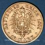 Monnaies Bavière. Otto (1886-1913). 10 mark 1888D. (PTL 900/1000. 3,98 g)