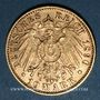Monnaies Bavière. Otto (1886-1913). 10 mark 1890D. (PTL 900/1000. 3,98 g)