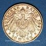Monnaies Bavière. Otto (1886-1913). 10 mark 1893 D.  (PTL 900‰. 3,98 g)