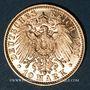 Monnaies Bavière. Otto (1886-1913). 10 mark 1911 D.  (PTL 900‰. 3,98 g)