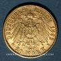 Monnaies Bavière. Otto (1886-1913). 20 mark 1895 D. (PTL 900‰. 7,96 g)