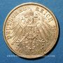 Monnaies Bavière. Otto (1886-1913). 20 mark 1900D. (PTL 900/1000. 7,96 g)