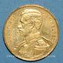 Monnaies Belgique. Albert I (1909-1934). 20 francs 1914. (PTL 900‰. 6,45 g)