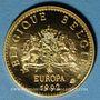 Monnaies Belgique. Baudouin I (1951-1993). Europa 1992. Module 20 francs. (PTL 1000‰. 6,45 g)