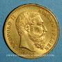 Monnaies Belgique. Léopold II (1865-1909). 20 francs 1871. (PTL 900‰. 6,45 g)