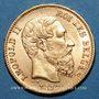 Monnaies Belgique. Léopold II (1865-1909). 20 francs 1871. (PTL 900/1000. 6,45 g)