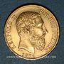 Monnaies Belgique. Léopold II (1865-1909). 20 francs 1875. (PTL 900/1000. 6,45 g)