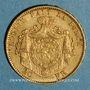 Monnaies Belgique. Léopold II (1865-1909). 20 francs 1877. (PTL 900‰. 6,45 g)