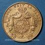 Monnaies Belgique. Léopold II (1865-1909). 20 francs 1877. (PTL 900/1000. 6,45 g)