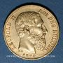Monnaies Belgique. Léopold II (1865-1909). 20 francs 1878. (PTL 900/1000. 6,45 g)