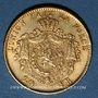 Monnaies Belgique. Léopold II (1865-1919). 20 francs 1871. 900 /1000. 6,45 gr