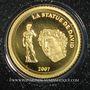 Monnaies Bénin. République. 1500 francs CFA 2007. (PTL 999‰. 0,5 g)