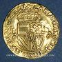 Monnaies Brabant. Charles Quint (1506-1555). Couronne d'or au soleil 1544. Anvers