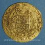 Monnaies Brabant. Philippe IV (1621-1665). Souverain ou lion d'or, 1663. Bruxelles
