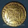 Monnaies Brésil. Jean V (1706-1750). 10 000 reis 1725. Minas Gerais
