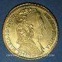 Monnaies Brésil. Marie I (1786-1816). 6400 reis 1796R. Rio. (PTL 917/1000. 14,34 g)
