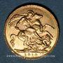 Monnaies Canada. Edouard VII (1901-1910). Souverain 1910C. Ottawa. (PTL 917‰. 7,99 g)