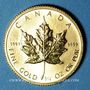 Monnaies Canada. Elisabeth II (1952- ). 10 dollars 1986. (PTL 999/1000. 7,785 g)