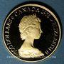Monnaies Canada. Elisabeth II (1952- ). 100 dollars 1978. Unification du Canada. (PTL 917‰. 16,97 g)