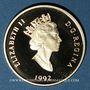 Monnaies Canada. Elisabeth II (1952- /). 100 dollars 1992. 350e ann. de Montréal. (PTL 583‰. 13,33 g)