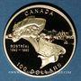 Monnaies Canada. Elisabeth II (1952- /). 100 dollars 1992. 350e ann. de Montréal. (PTL 583/1000. 13,33 g)