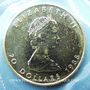Monnaies Canada. Elisabeth II (1952- /). 20 dollars 1988. (PTL 999,5‰. 15,5519 g)