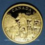 Monnaies Canada. Elisabeth II (1952- /). 200 dollars 2017. Alexandre Mackenzie. (PTL 999,9‰. 15,43 g)