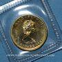 Monnaies Canada. Elisabeth II (1952- ). 5 dollars 1987. (PTL 999,9‰. 3,12 g)