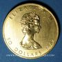 Monnaies Canada. Elisabeth II (1952- ). 50 dollars 1987. (PTL 999‰. 31,10 g)