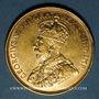 Monnaies Canada. Georges V (1910-1936). 10 dollars 1913. (PTL 900‰. 16,71 g)