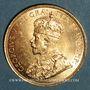 Monnaies Canada. Georges V (1910-1936). 10 dollars 1914. (PTL 900‰. 16,71 g)