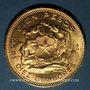 Monnaies Chili. République. 100 pesos 1952. (PTL 900‰. 20,34 g)