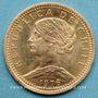 Monnaies Chili. République. 20 pesos 1976. (PTL 900‰. 4,0679 g)