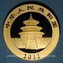 Monnaies Chine. République. 500 yuan 2011. (PTL 999‰. 31,11 g)