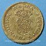 Monnaies Colombie. Charles III (1759-1788). 1 escudo 1762PN, Popayan