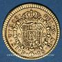 Monnaies Colombie. Charles III (1759-1788). 1 escudo 1772P JS