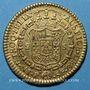 Monnaies Colombie. Charles III (1759-1788). 2 escudos 1783P-SF