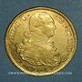 Monnaies Colombie. Charles IV (1788-1808). 8 escudos 1793 P-JF. Popayan (PTL 875/1000.  27,07 g)