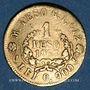 Monnaies Colombie. Etats-Unis de Colombie (1862-1886). 1 peso 1863. (PTL 900/1000. 1,61 g)