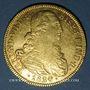 Monnaies Colombie. Ferdinand VII (1808-1819). 8 escudos 1820 NR - JF. Carthagène. (PTL 875/1000. 27,06 g)