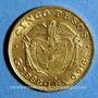Monnaies Colombie. République. 5 pesos 1920 A (PTL 917‰. 7,988 g)