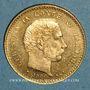 Monnaies Danemark. Christian IX (1863-1906). 10 kroner 1900 (PTL 900‰. 4,48 g)