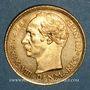 Monnaies Danemark. Frédéric VIII (1906-1912). 10 kroner 1908 (PTL 900‰. 4,48 g)