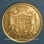 Monnaies Danemark. Frédéric VIII (1906-1912). 20 kroner 1911 BU (PTL 900‰. 8,96 g)