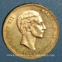 Monnaies Espagne. Alphonse XII (1874-1885). 25 pesetas 1880 (80)MS-M (PTL 900‰. 8,06 g)