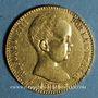Monnaies Espagne. Alphonse XIII (1886-1931). 20 pesetas 1889(89)MP-M. Madrid. (PTL 900‰. 6,45 g)