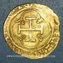 Monnaies Espagne. Charles I et Jeanne (1516-1555). Escudo n.d. Séville