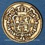 Monnaies Espagne. Charles III (1759-1788). 1/2 escudo 1783/80JD. Madrid