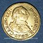 Monnaies Espagne. Charles III (1759-1788). 1/2 escudo 1783M-JD. Madrid