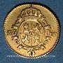 Monnaies Espagne. Charles III (1759-1788). 1/2 escudo 1786DV. Madrid